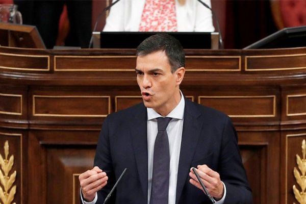 Pedro Sánchez no logró mayoría necesaria en Congreso español