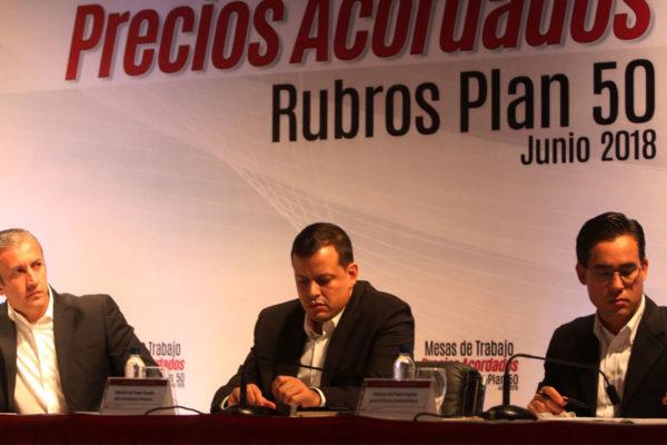 Gobierno suspende reuniones del Plan 50