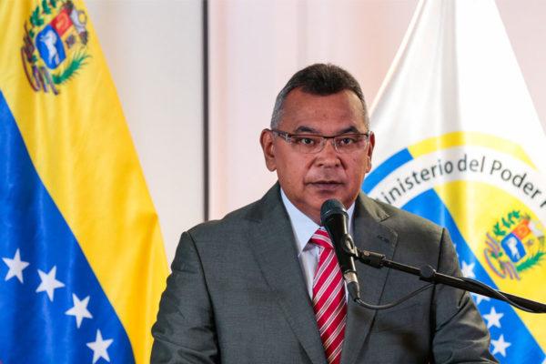 Gobierno reporta baja en criminalidad en Venezuela