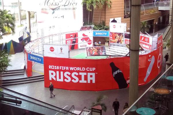 Lugares en Caracas para ver los juegos del Mundial Rusia 2018