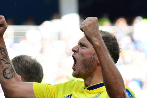 Suecia gana 1-0 a Corea del Sur con un penal pitado con el VAR