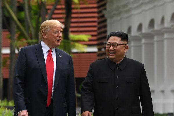 Trump: Negociaciones para cumbre con Kim están avanzadas
