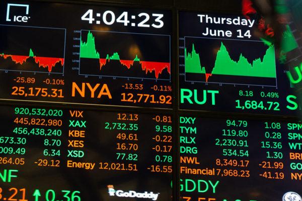 Wall Street profundiza las pérdidas a media sesión y Dow baja un 2,75%