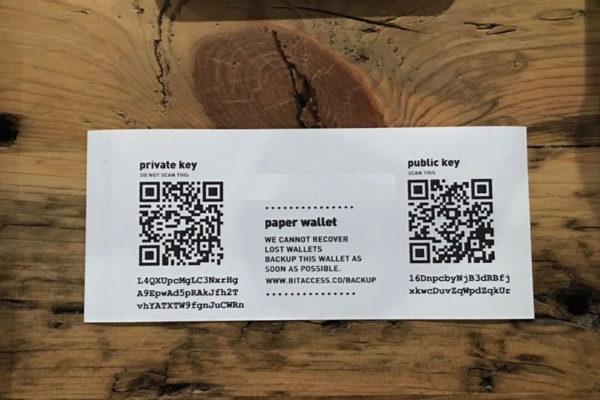 ¿Cómo crear una billetera de papel para criptomonedas?