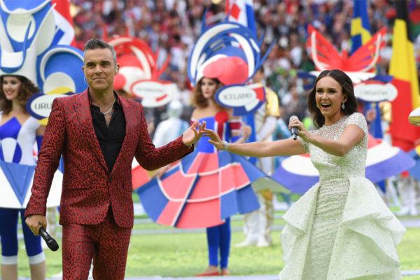 FOTOS   Una austera ceremonia abrió el Mundial Rusia 2018