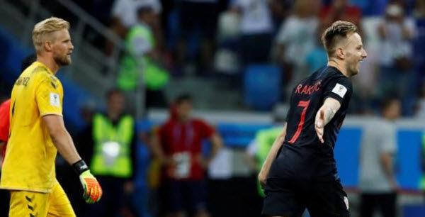 Croacia vence a Dinamarca y jugará con Rusia en cuartos