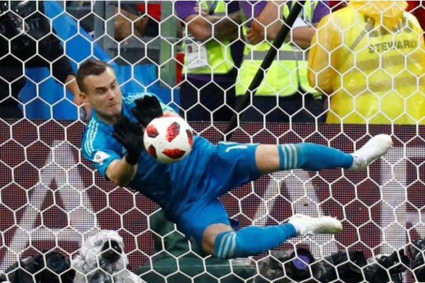 Rusia vence en penales a España y pasa a cuartos de final