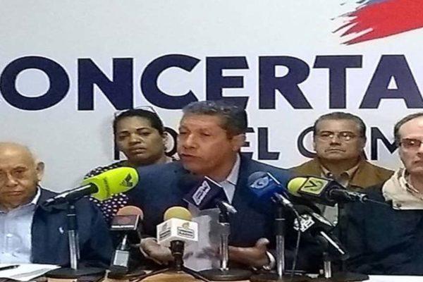 Alianza Concertación Por el Cambio participará en elecciones