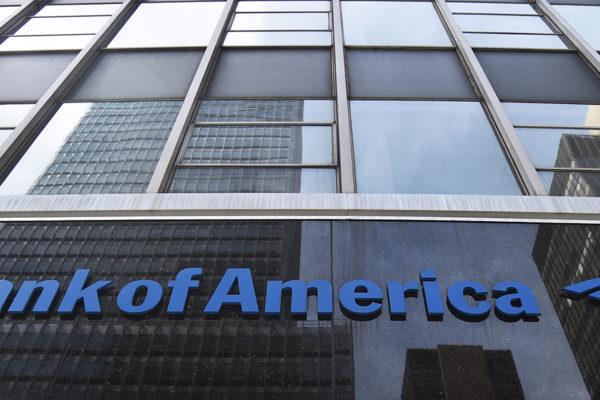 Bank of America ganó 20.436 millones de dólares hasta septiembre