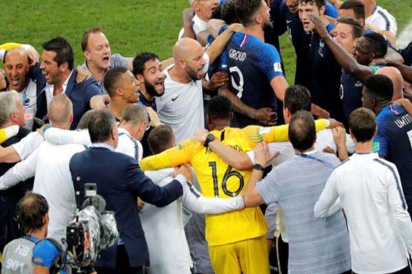 Francia se proclamó campeona del Mundo