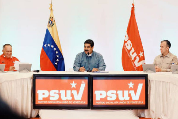 Maduro en campaña: torneo electoral no afectó curva de contagios de covid-19