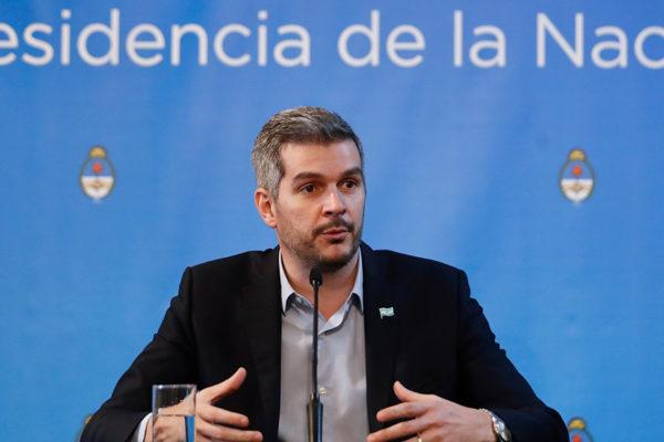 Marcos Peña: Economía argentina atraviesa un «clima tormentoso»