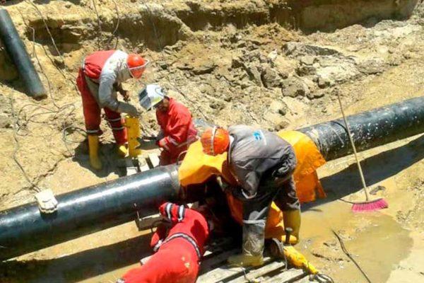 Pdvsa Gas culminó trabajos en el tramo Muelle Cariaco-Margarita