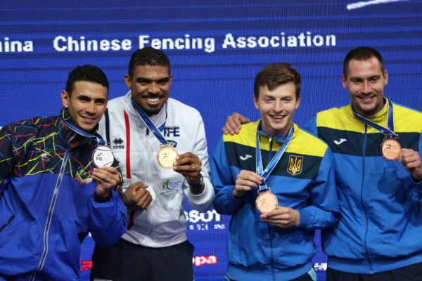 Venezolano Rubén Limardo logra la plata mundial en espada