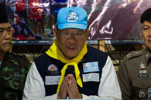 Rescatados los 12 niños y su entrenador en Tailandia