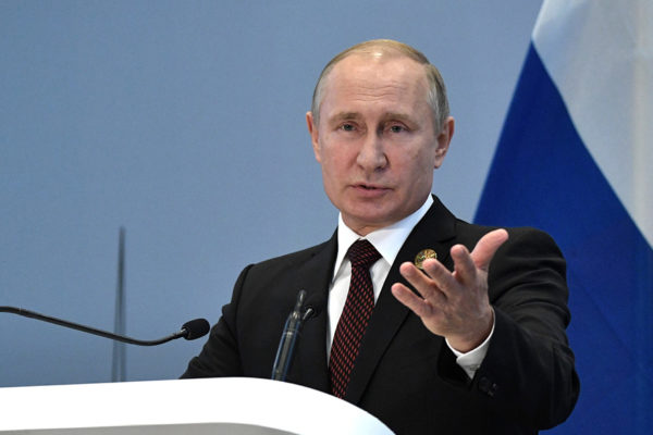 Putin expresa su apoyo a Maduro en conversación telefónica