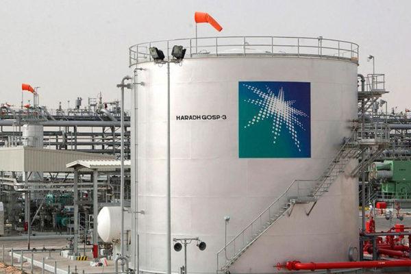 Petrolera Aramco aumenta producción de crudo a 8% hasta 13 millones de barriles