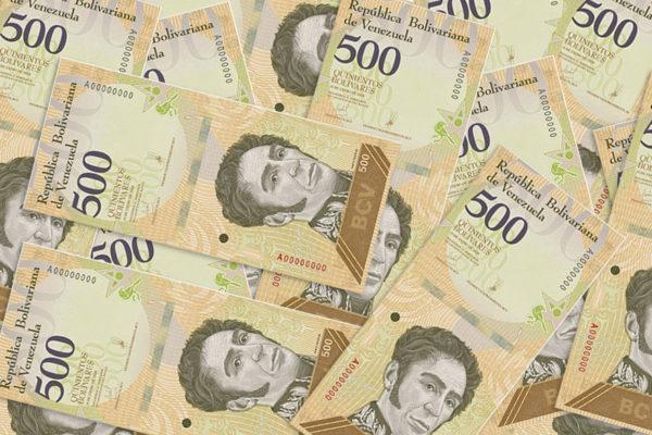 Una compra básica requeriría 50 billetes de 500 del nuevo cono