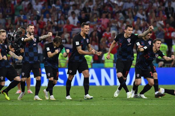 Croacia venció a Rusia y jugará contra Inglaterra en semifinales