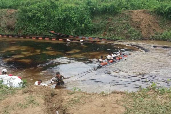 Nuevo derrame de crudo afecta al río Guarapiche en Monagas