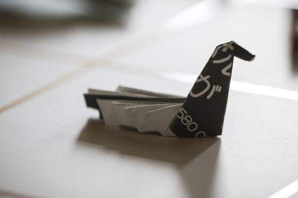 Propina a la japonesa: dejar un origami en la mesa
