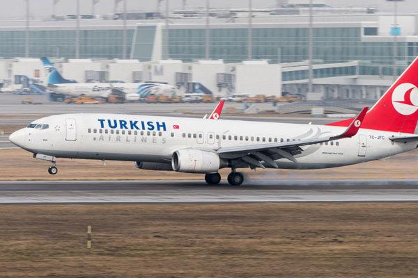 Reinician vuelos de pasajeros de Turkish Airlines en ruta Estambul-Caracas