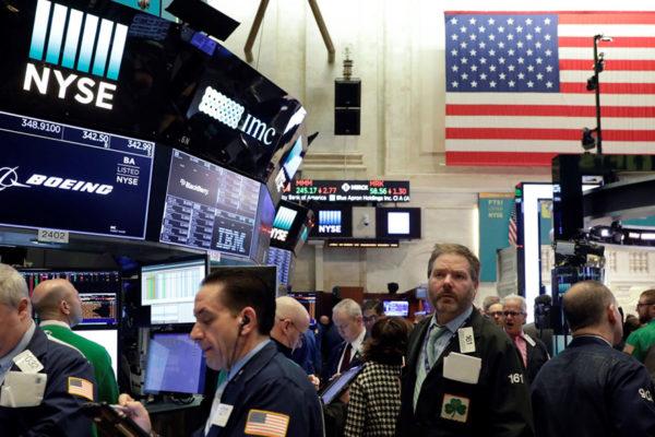 Wall Street rebotó tras dos sesiones en caída