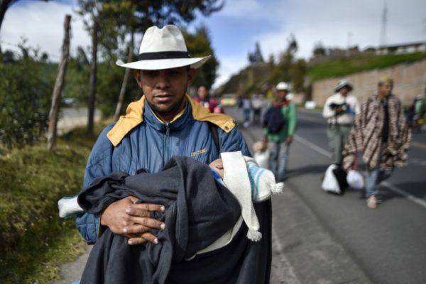 Recrudecen protestas en Ecuador que ya dejan primer fallecido y 477 detenciones