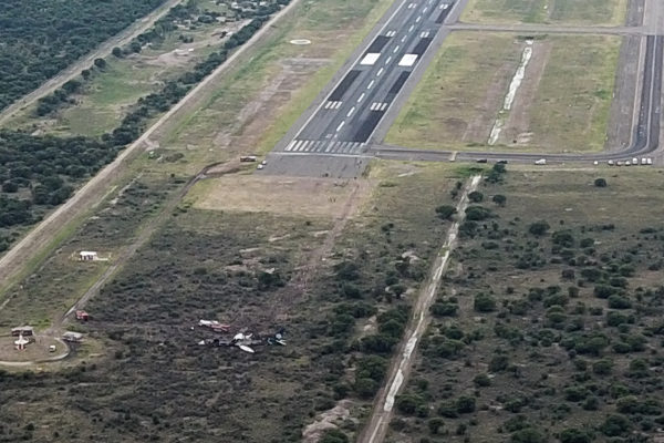 Accidente de avión en México no dejó pérdidas humanas