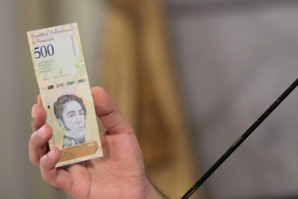 BCV inicia proceso de entrega del nuevo cono monetario a la banca