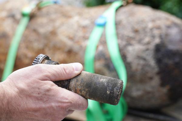 Desactivan una bomba de la Segunda Guerra Mundial en Alemania