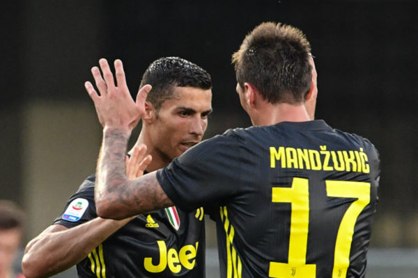 Cristiano Ronaldo debuta en la Serie A sin gol pero con triunfo