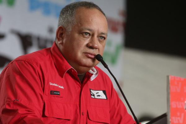 Diosdado Cabello pide a EEUU levantar sanciones contra Venezuela