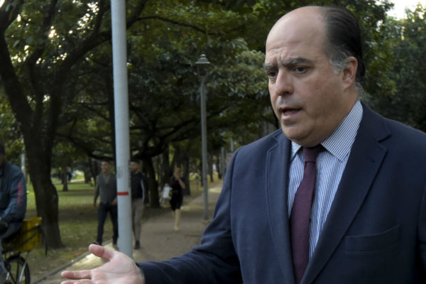 Borges pidió a Guaidó mostrar informe sobre el manejo de los fondos públicos