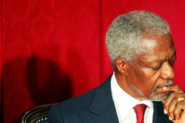 Muere Kofi Annan, exsecretario general de la ONU y Nobel de la Paz