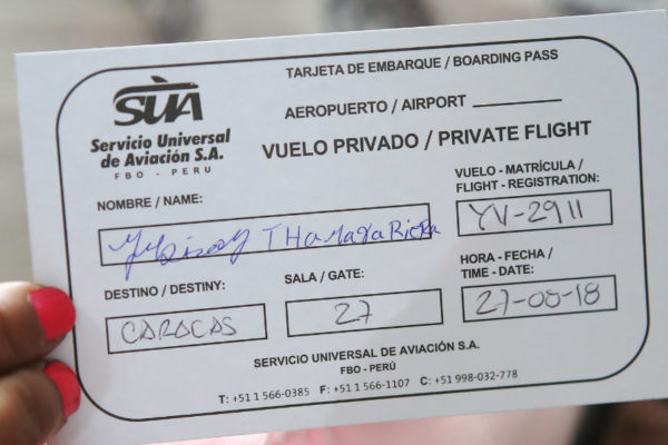 97 migrantes en Perú regresan a Venezuela
