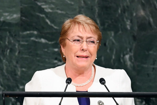Bachelet advirtió que más sanciones a Venezuela aumentarán la migración