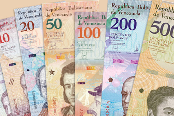 BCV puso en circulación 830,2 millones de nuevos billetes en enero
