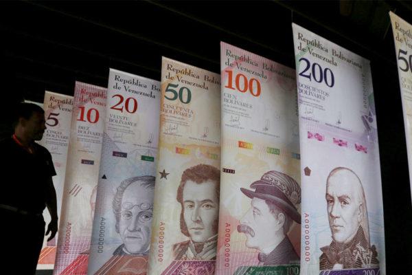 Nuevos billetes abarcan 7,55% del total de dinero en circulación
