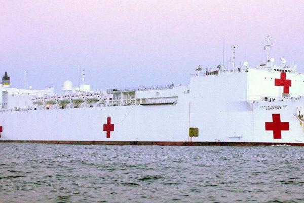 EEUU enviará buque hospital a Colombia por crisis migratoria