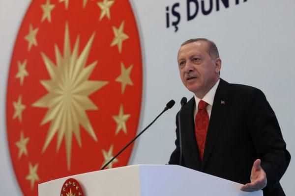 Erdogan reitera que Turquía defenderá su independencia económica