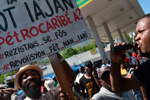 Recrudecen protestas en Haití contra corrupción con ayuda de Petrocaribe