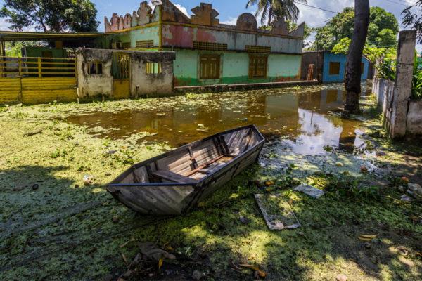 Inundaciones se agravan con crecida récord del Orinoco