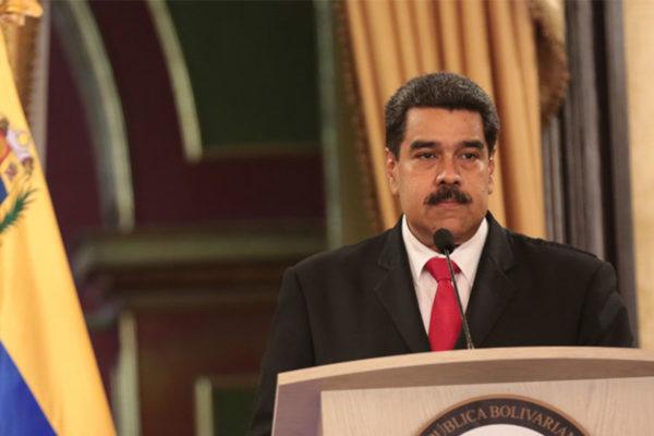 Maduro: Plan económico cuenta con el apoyo de China