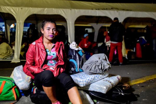 Mariángela: la venezolana que migró con un hijo en el vientre