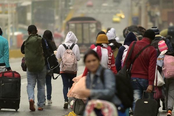 Acnur instala zonas de aislamiento preventivo para migrantes venezolanos en Brasil y Colombia