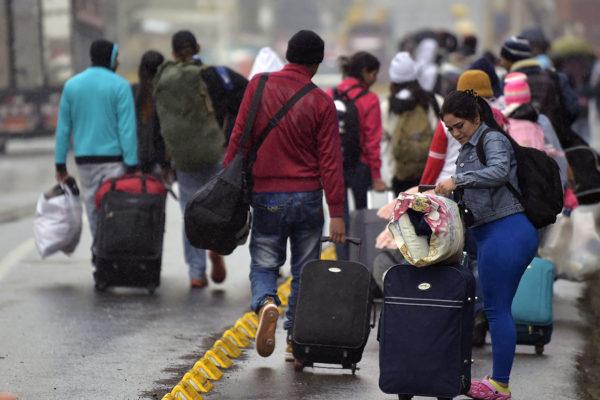 UE y España celebrarán conferencia de donantes para refugiados venezolanos