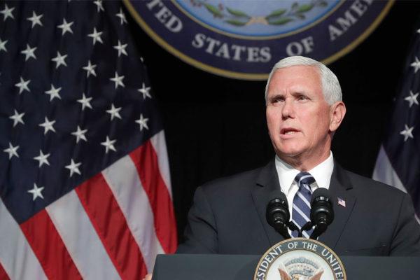 Vicepresidente Pence aseguró que Venezuela merece volver a prosperar