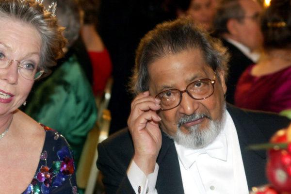 Muere el premio Nobel de Literatura V.S. Naipaul