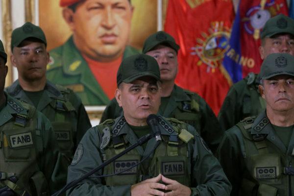 Alto mando militar declaró irrestricto apoyo a nuevo mandato de Maduro